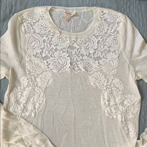 Rebecca Taylor lace sweater